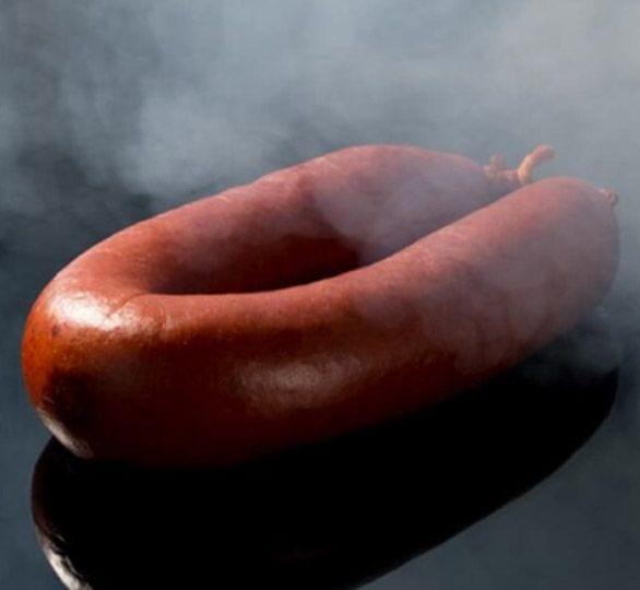 Het seizoen van de rookworst!
