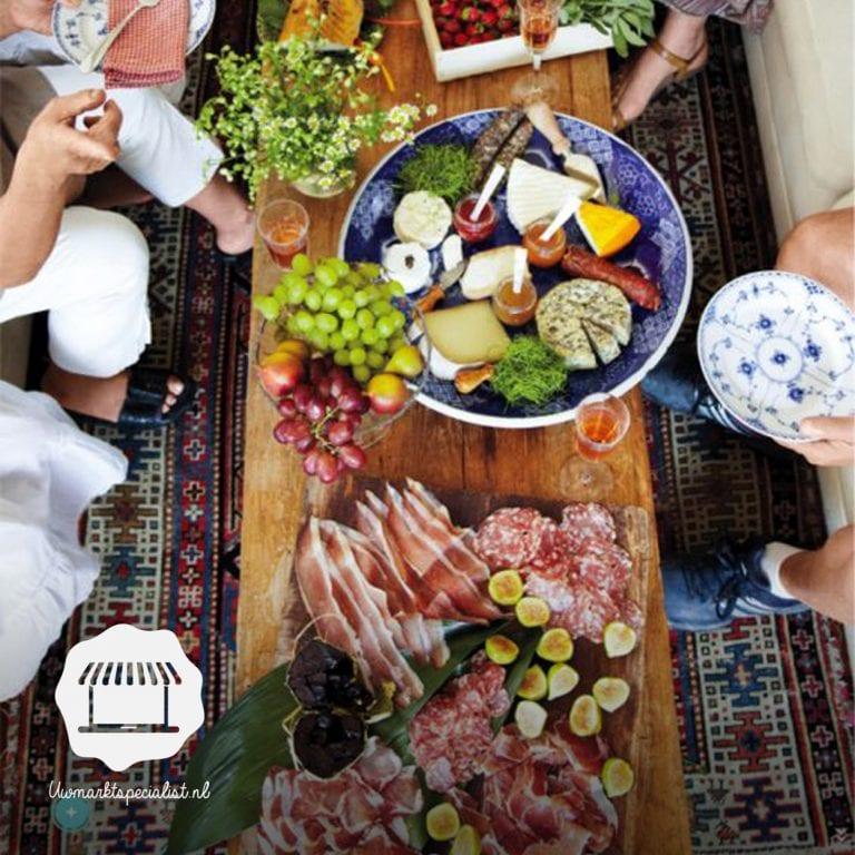 5 ingrediënten van de markt voor de perfecte herfst borrelplank