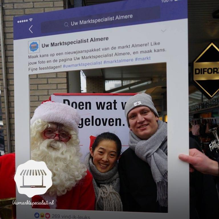 Winnaar nieuwjaarspakket markt Almere