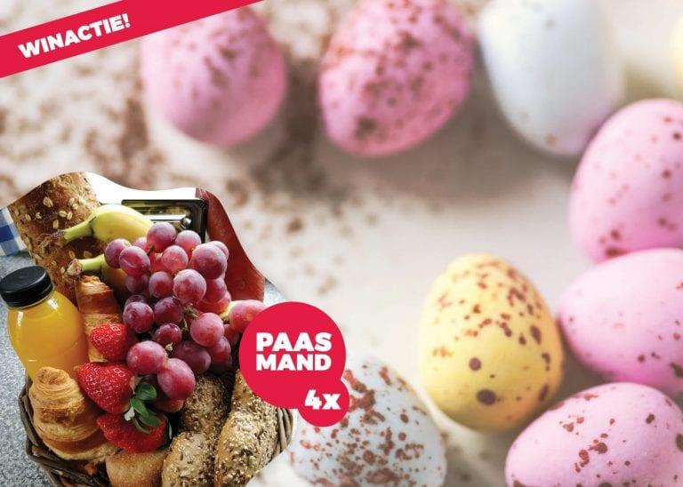 Win een Paasmand (4x) van de markten Almere