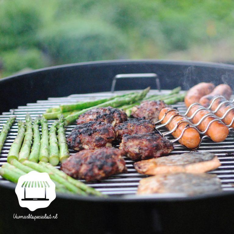 Barbecue specialiteiten van de marktslager