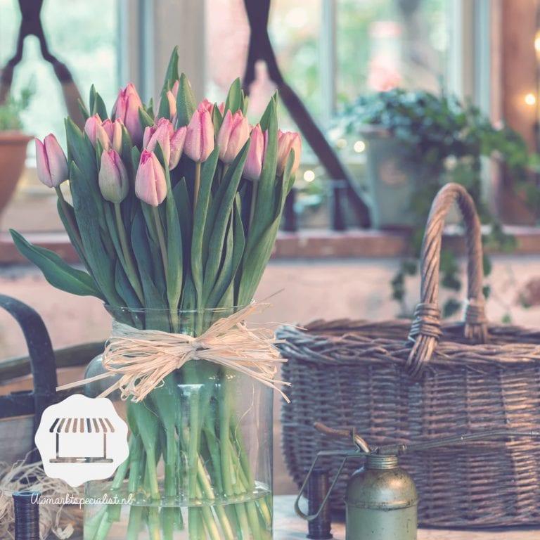 Tulpendecoraties voor in huis