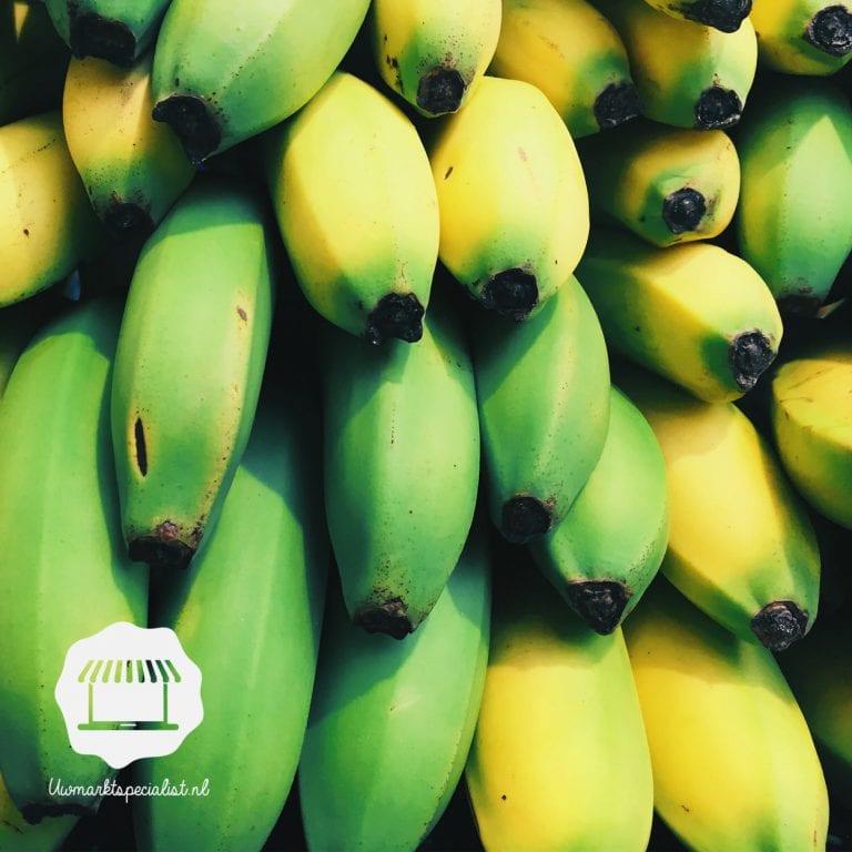 Waarom zijn de bananen…?