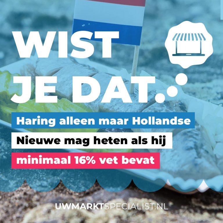 Haring! 10 weetjes over Hollandse Nieuwe