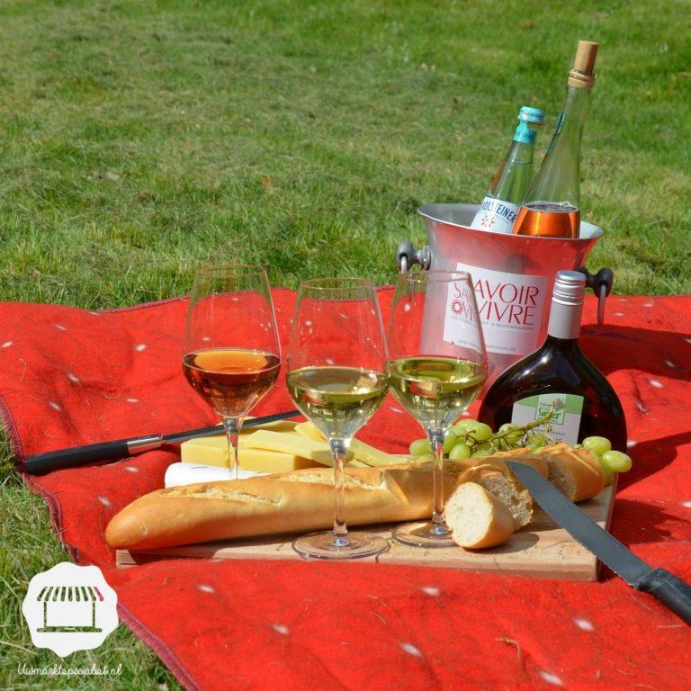 Zalig picknicken in de zomer