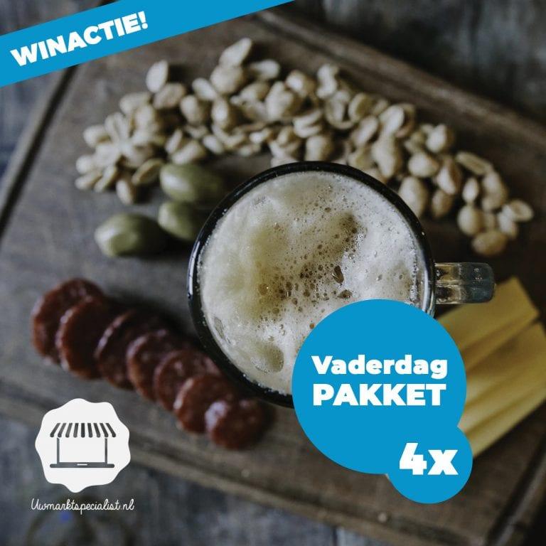 Bekendmaking Vaderdagpakket (4x) van de markt Almere