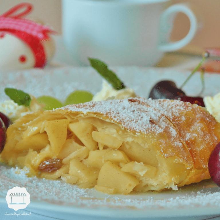 Duits dessert: Apfelstrudel