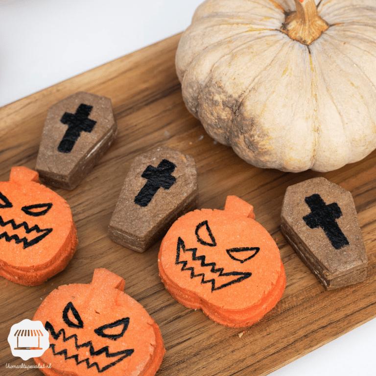 Scary voedsel met Halloween