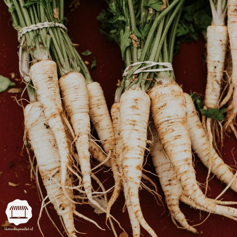Nieuwe oogst: Pastinaak, de witte wortel