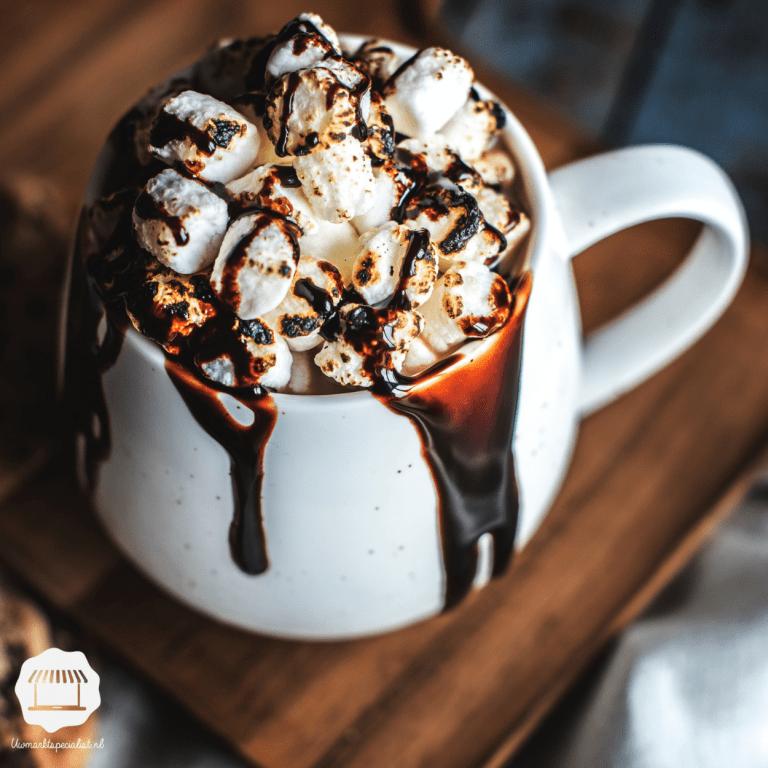 Wintertijd is tijd voor warme chocolademelk!