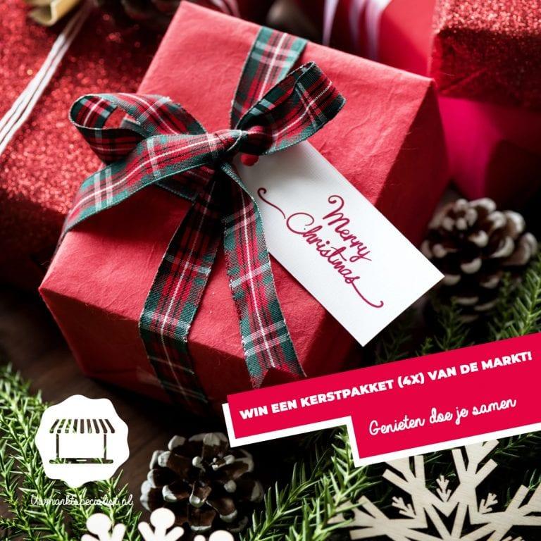 Win een kerstpakket (4x) van de markt Almere