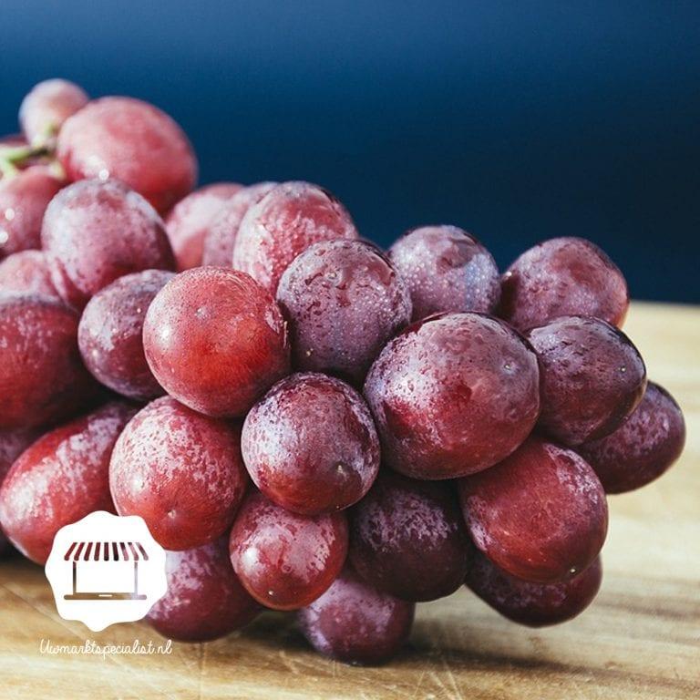 Red Globe druiven