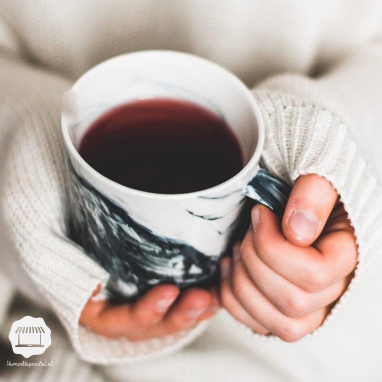 Kruip lekker weg met een kop thee