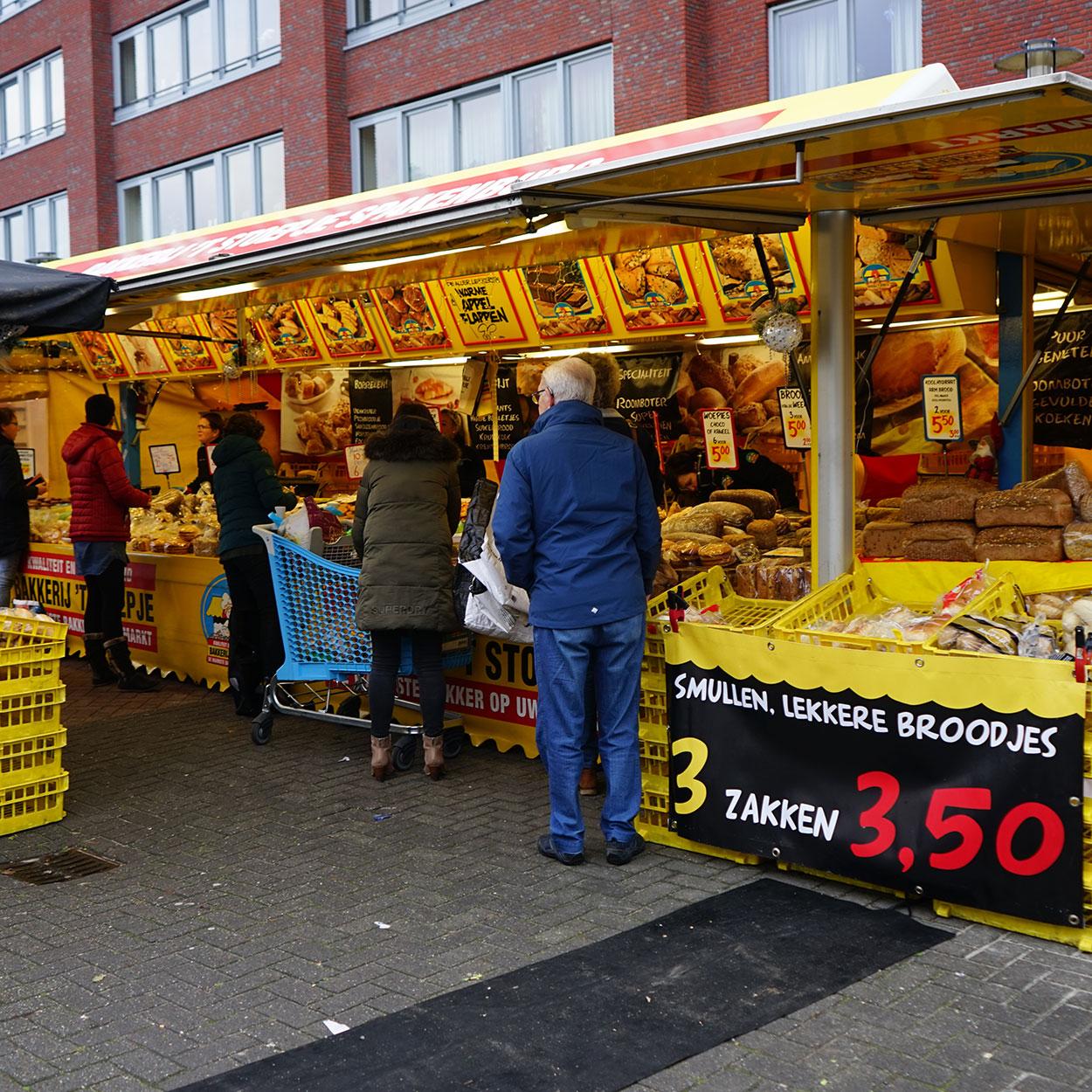 Markthandel Jaan de Graaf