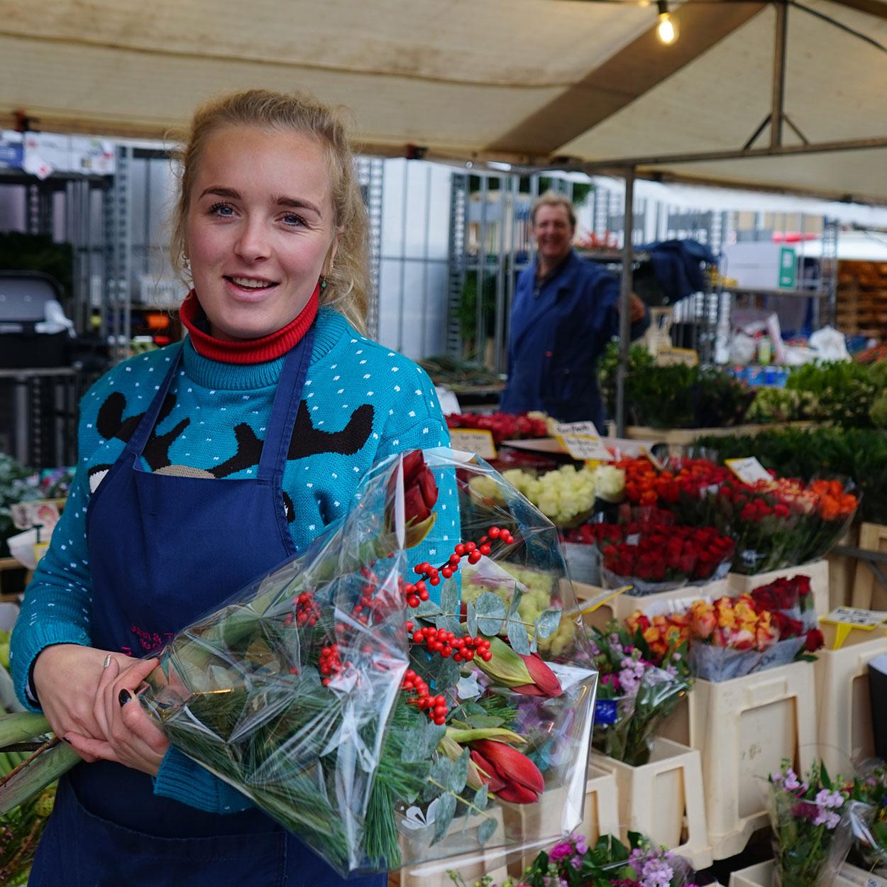 Marktbloemist John en Thea, Shauny de Groot