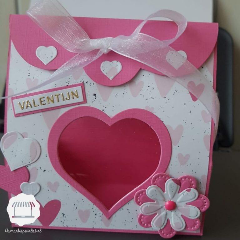 Knippen met Marion | Valentijnsdoosje