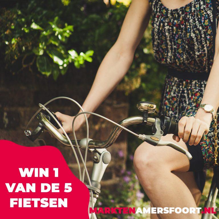 WIN 1 van de 5 fietsen | markten Amersfoort