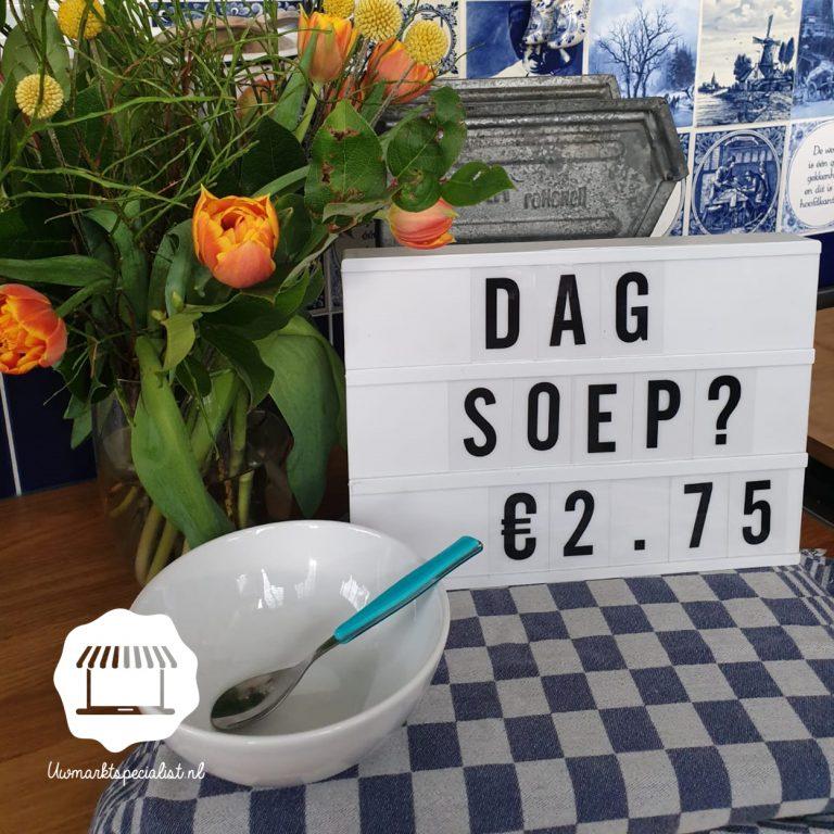 Aspergesoep €2,75