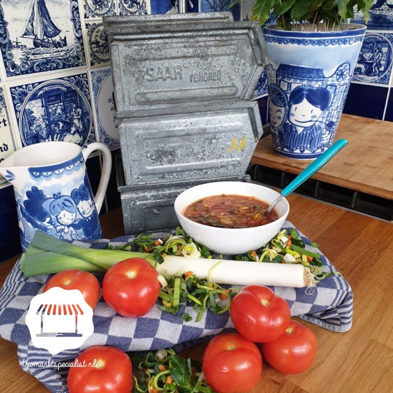 Dagsoep Tomaten-groentesoep