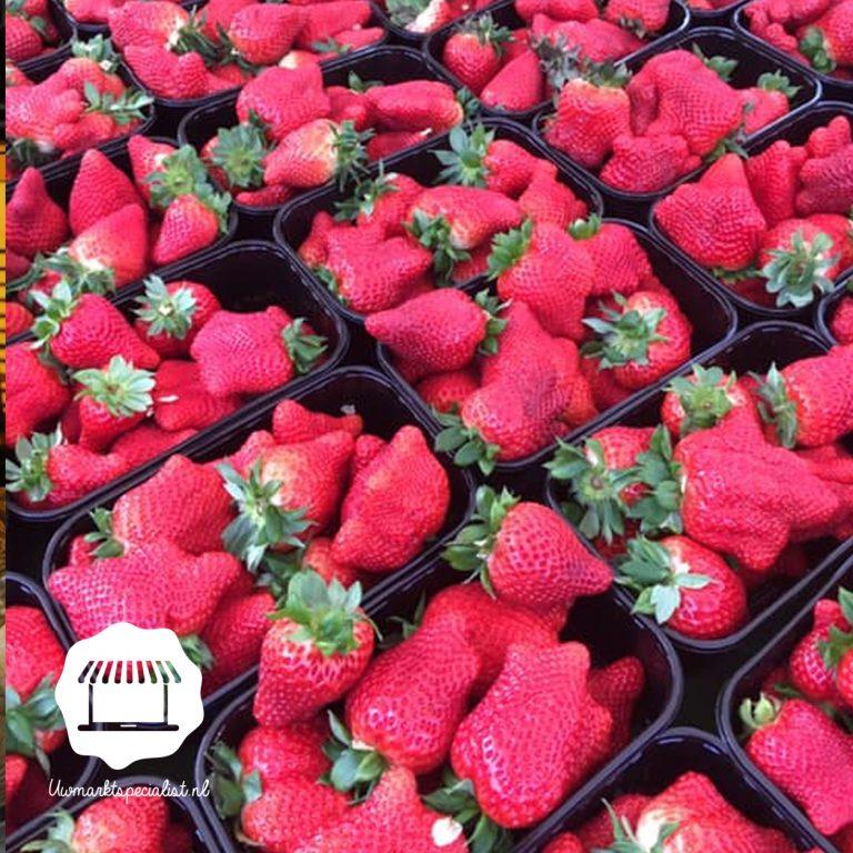 Lekkere zoete aardbeien