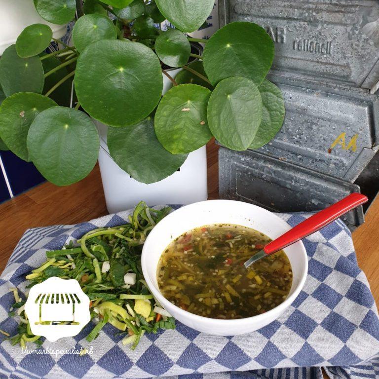 Dagsoep rijkelijk gevulde groentesoep