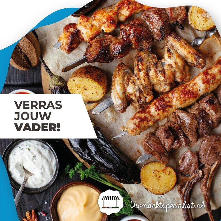 Win een Vlees of vis BBQ pakket voor Vaderdag (4x) | Markten Almere
