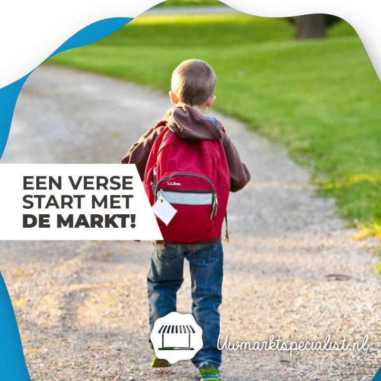 Winnaars back to school rugtas (6x) | Markten Amersfoort