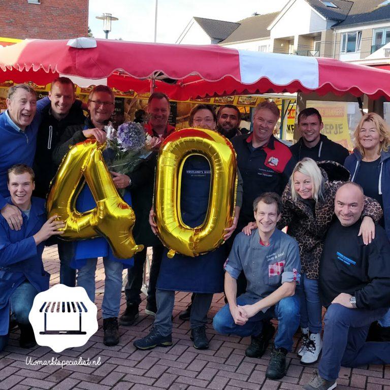 Markt Hoogland 40 jaar!