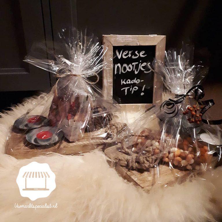 Cadeaupakket: Verse noten!