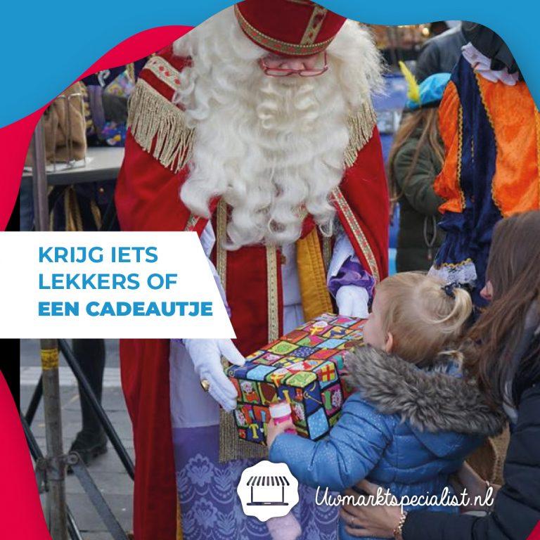 Win een schoencadeautje (10x) van Sinterklaas op de markt Almere