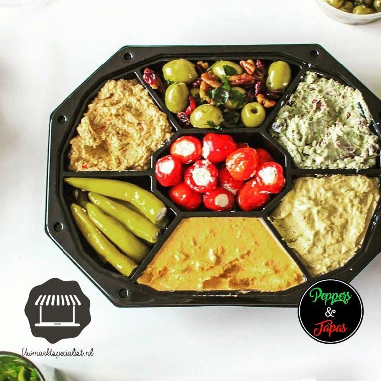 Peppers en Tapas gratis thuisbezorgd in Amersfoort