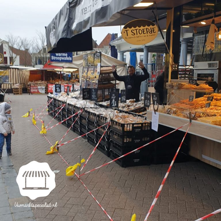 Corona maatregelen Amersfoortse markt