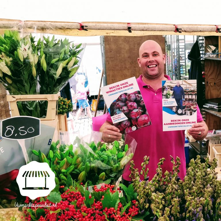 Bestel een bloemetje online bij Kees van der Plas