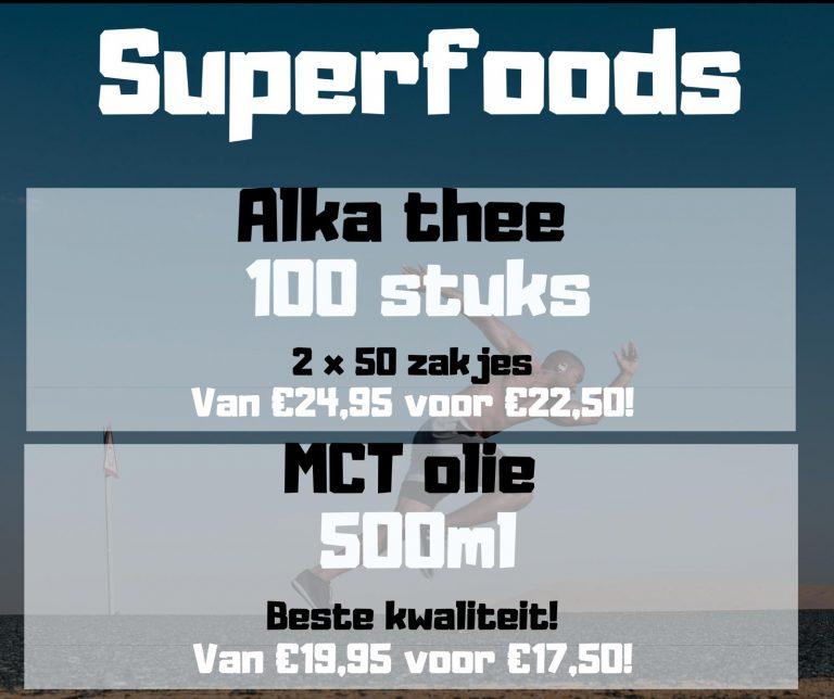 Superfoods aanbieding