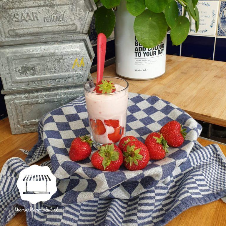 NIEUW: Yoghurt met versfruit!