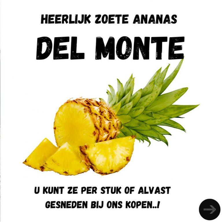 Ananas zonder jas!